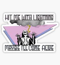 Harte Zeiten Paramore Sticker