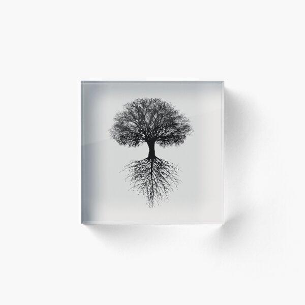 Tree of Life Acrylic Block