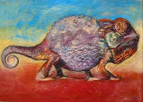 Cameleon by Gary  Frier