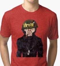 Full Metal Jacket Chimp Tri-blend T-Shirt