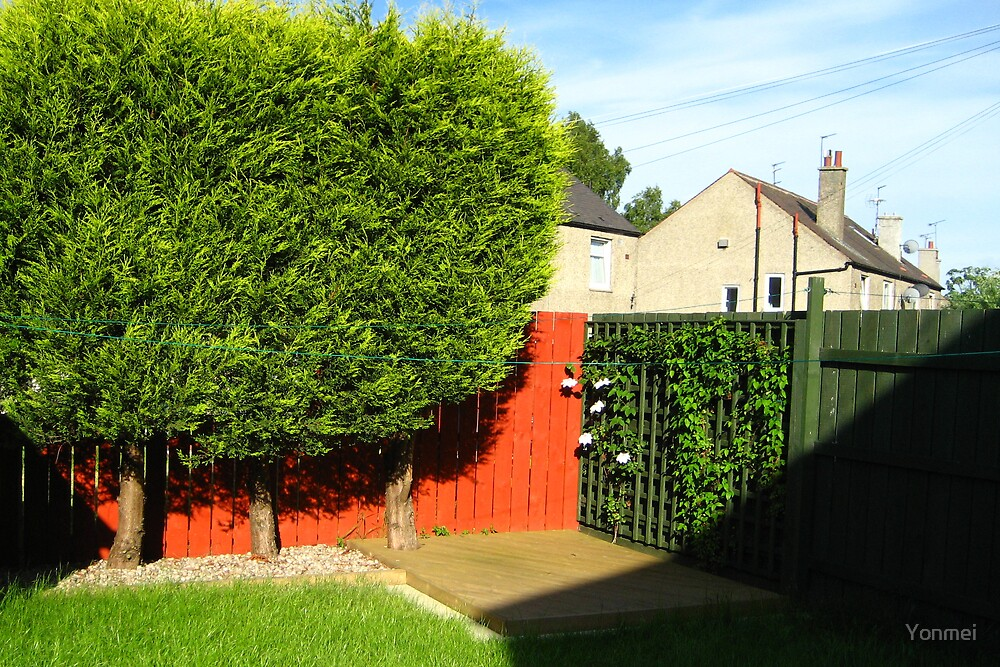 Carrick Knowe Garden by Yonmei