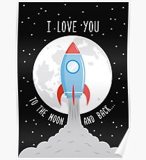 I Love You to the Moon and Back II Poster