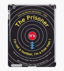 Number 6 The Prisoner Patrick McGoohan iPad Case/Skin