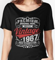 Premium Vintage 1967 Edition - 50th Birthday Gift Women's Relaxed Fit T-Shirt