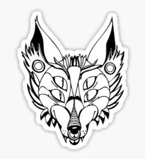 Punk Fox Sticker