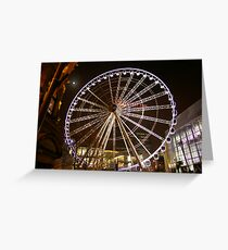 Manchester Wheel Greeting Card