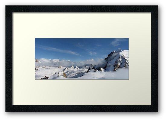 Mont Blanc Glacier by Chris Charlesworth