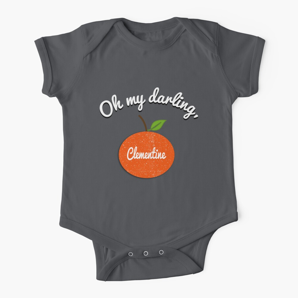 Oh my darling, Clementine Baby One-Piece