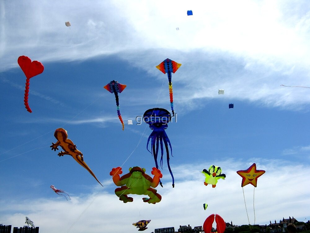 Kite Festival by gothgirl