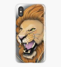 Neotraditional Lion iPhone Case/Skin