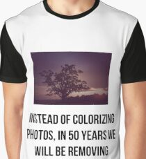 The future of photo editing Graphic T-Shirt