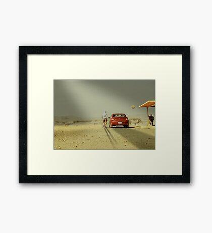 The Deal Framed Print