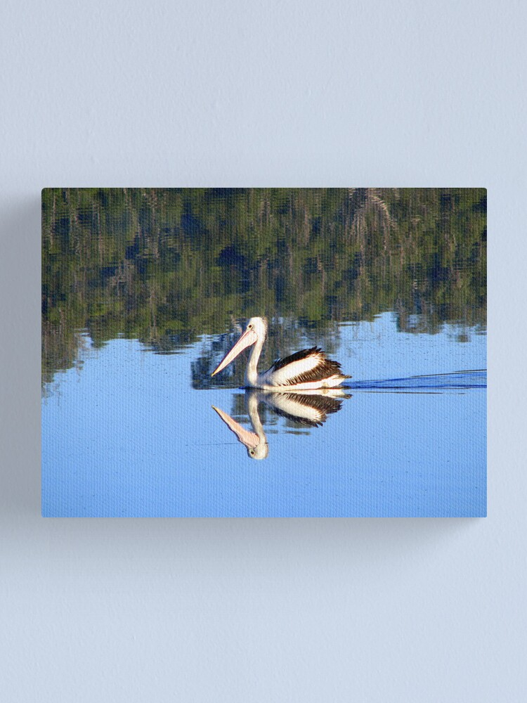 Alternate view of Coloured Water 6 Canvas Print