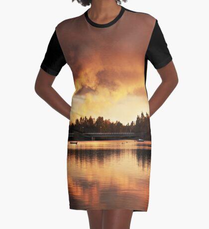 Oulu Graphic T-Shirt Dress