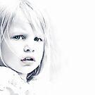 Green eyed girl by Kurt  Tutschek