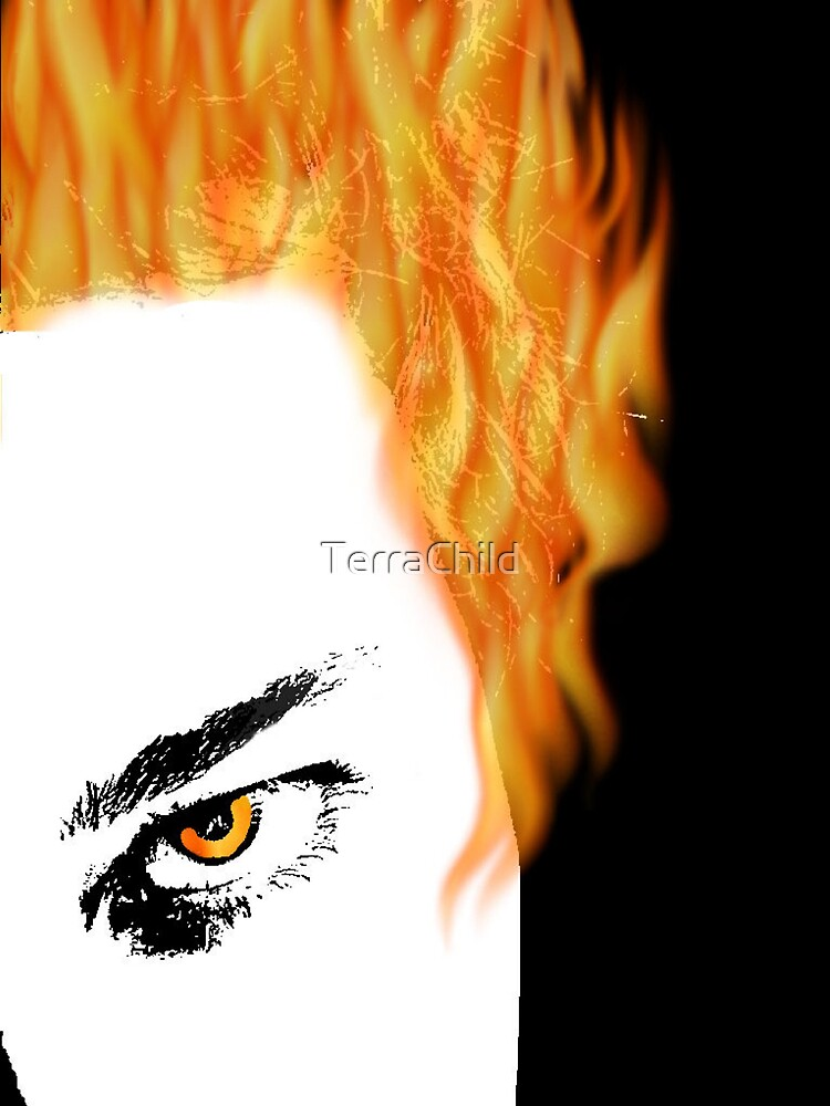 Daughter of Gaea - Fire by TerraChild