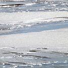 Wet Sand, Traigh Bái, Tiree by Stuart  Fellowes