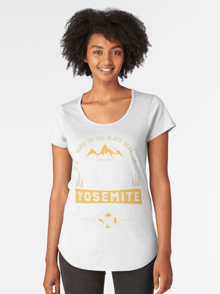 shirt Vintage yosemite t