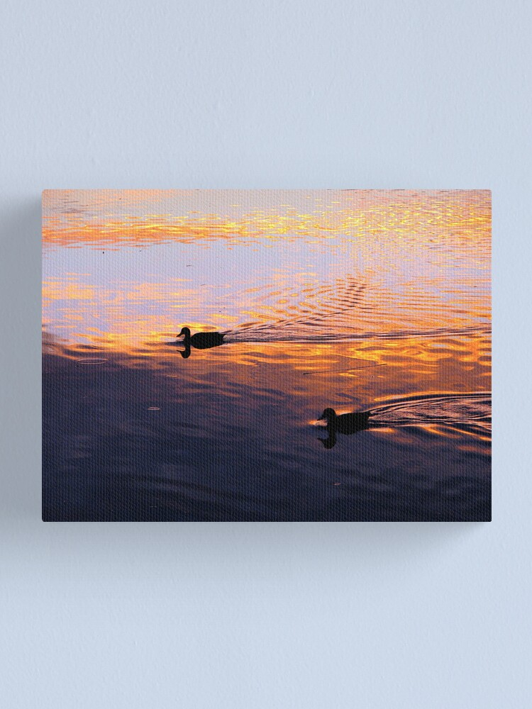 Alternate view of Coloured Water 5 Canvas Print