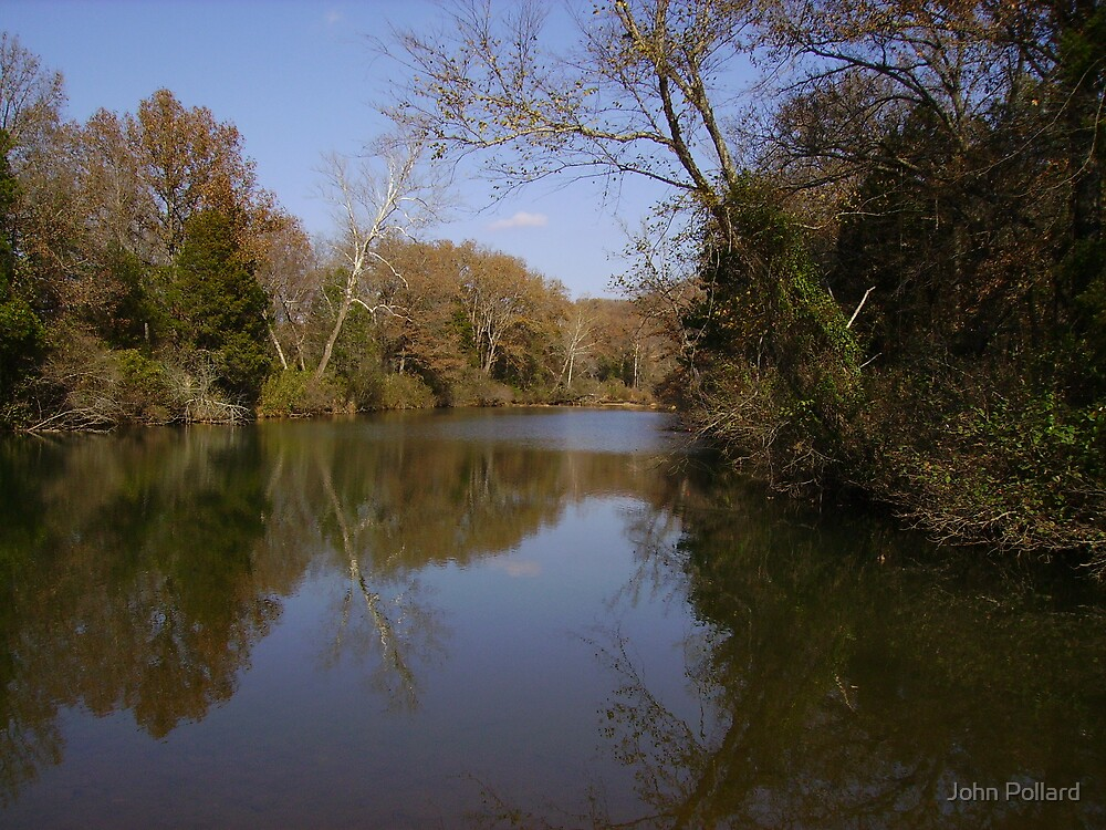Lee Creek by John Pollard