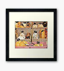 Rustic Bread Display Framed Print