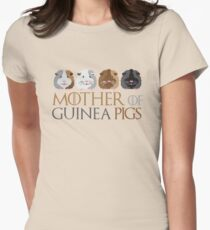 Mother of Guinea pigs Women's Fitted T-Shirt