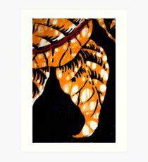 Batik pattern Art Print