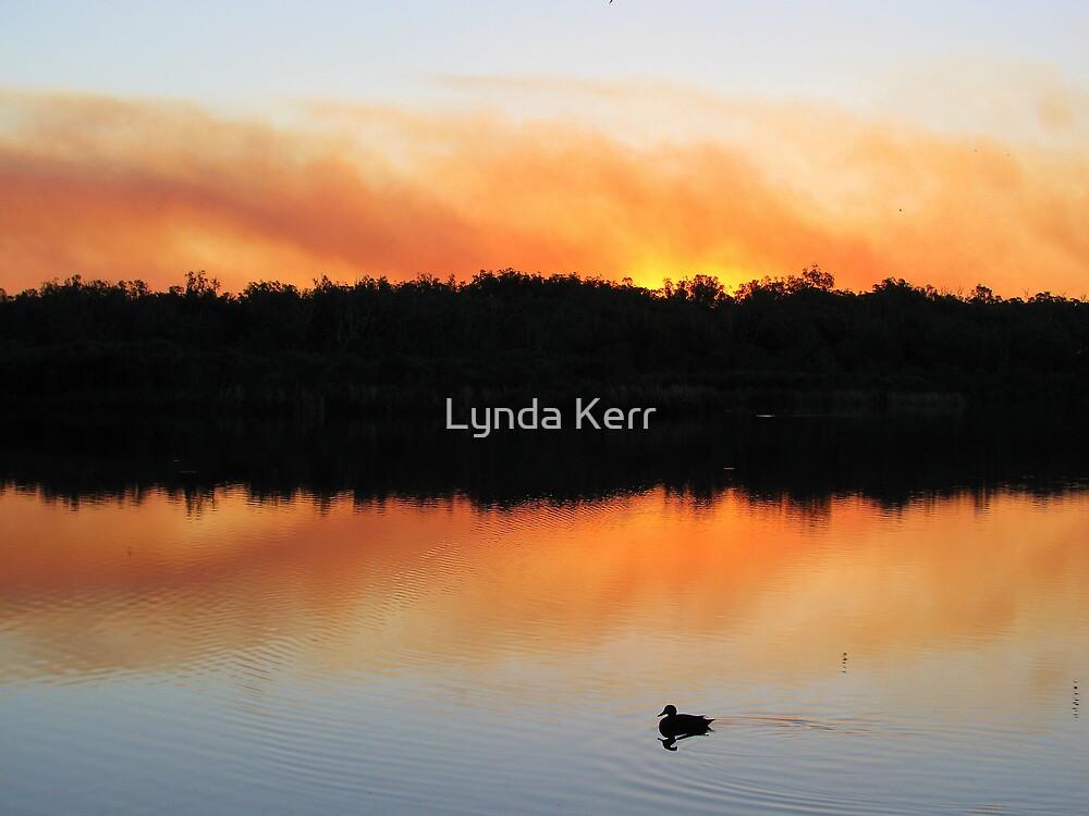 Sunset Smoke by Lynda Kerr