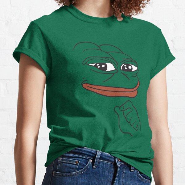 Smug Pepe The Frog Classic T-Shirt