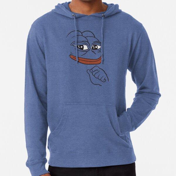 Smug Pepe The Frog Lightweight Hoodie