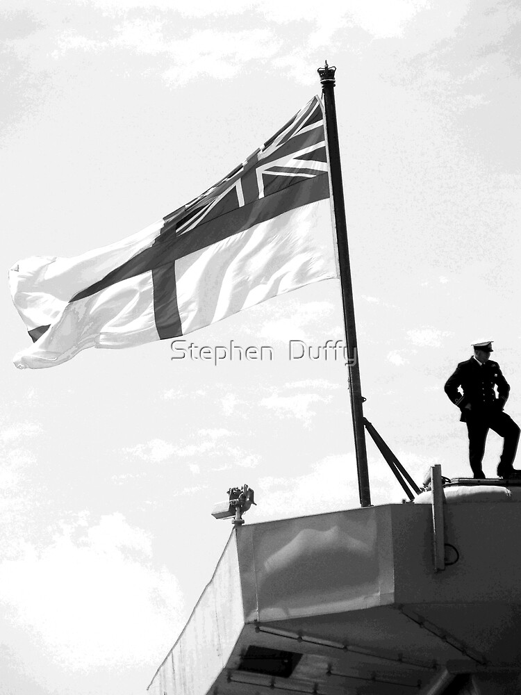 Ship & Captain by Stephen  Duffy