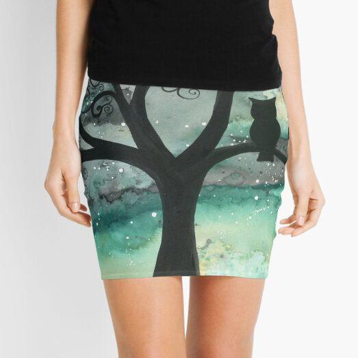 Midnight Watcher Mini Skirt