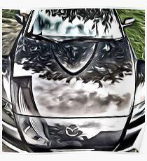 Mazda RX8 Poster
