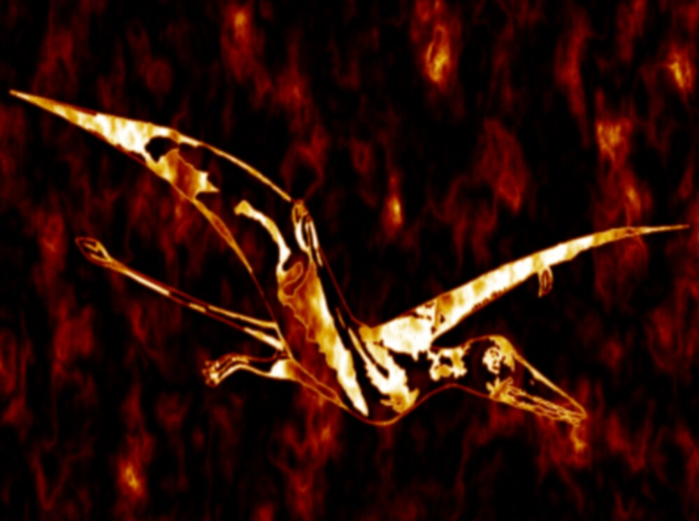 Wild Pterodacyl by EddyG