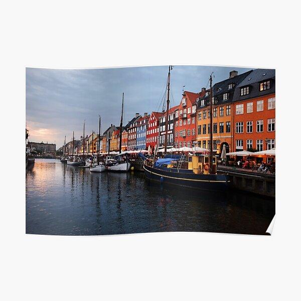 Nyhavn - Copenhagen, Denmark Poster