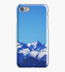 Snow-capped Swiss Alps iPhone Case/Skin