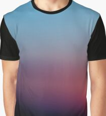 Rusty Colorful Sunset Graphic T-Shirt