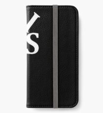 LIES White Text Parody of the Love Statue iPhone Wallet/Case/Skin
