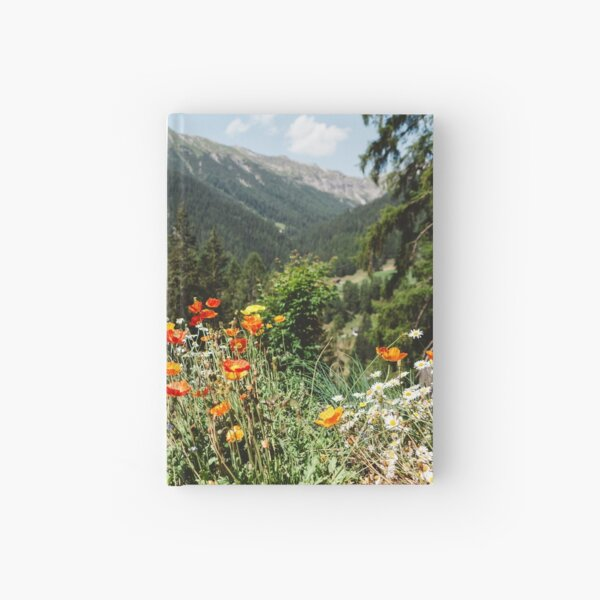 Mountain garden Hardcover Journal