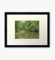 NC Greenery Framed Print