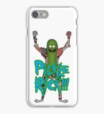 PICKLE RICK! iPhone Case/Skin