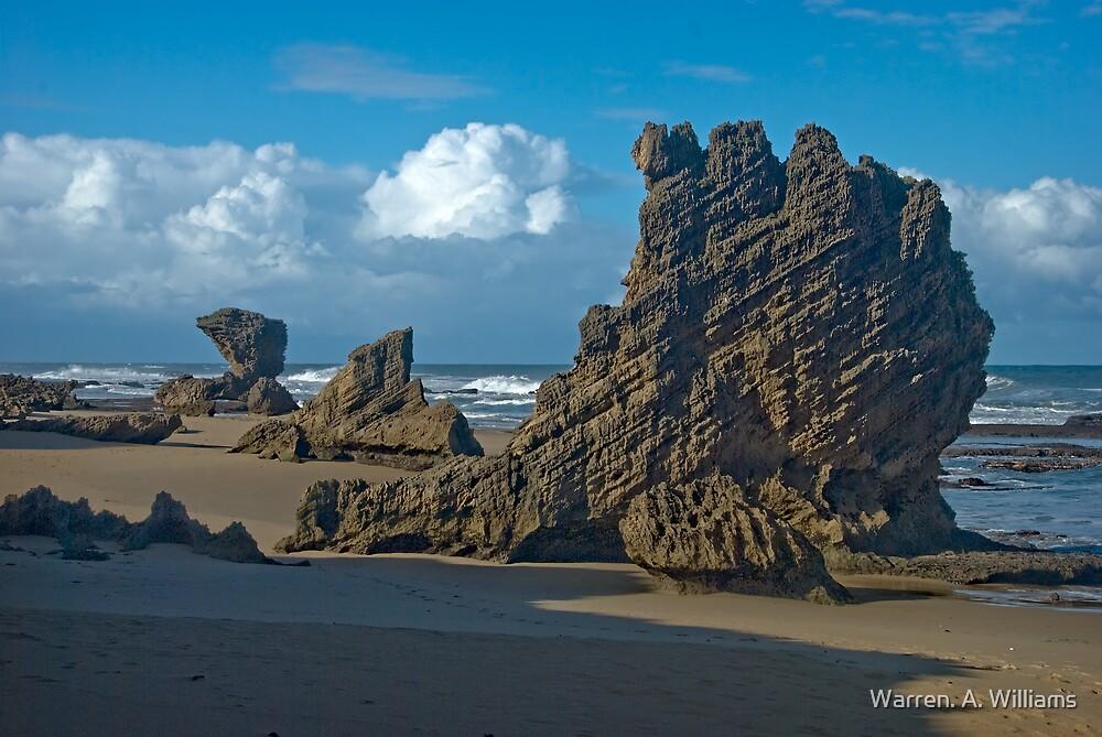 Big Shadow - Big Rocks by Warren. A. Williams