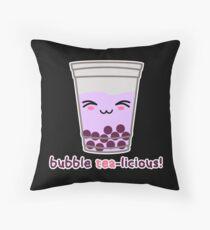Bubble Tea-licious! Throw Pillow