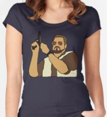 The Big Lebowski Walter Women's Fitted Scoop T-Shirt