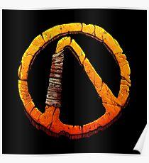 Borderlands Vault symbol Poster