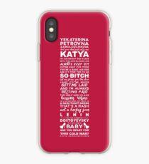 Katya Read U Wrote U iPhone Case