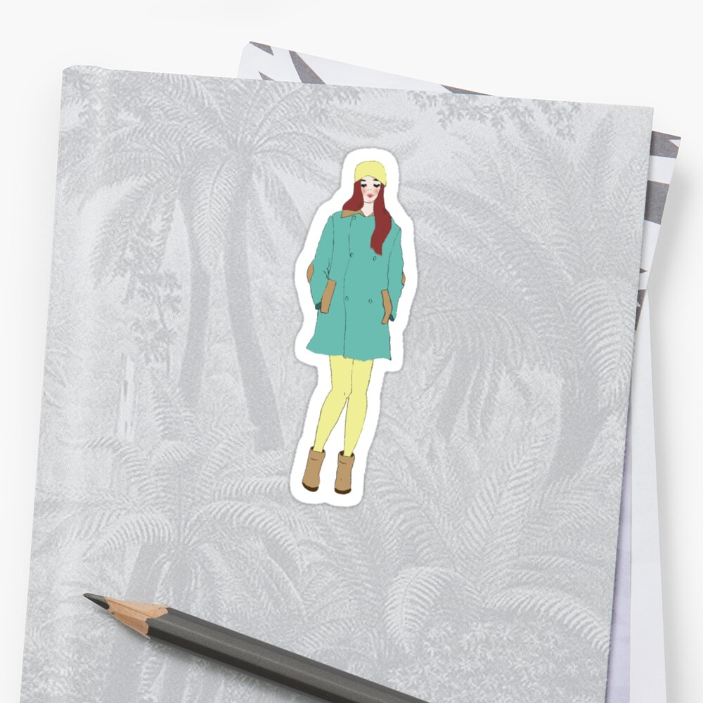 Sīyī Girl 5 Sticker