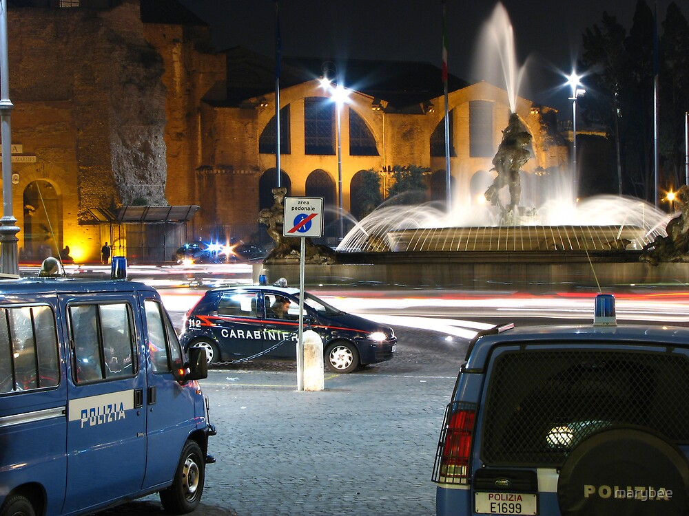 night in rome by marybee