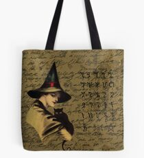 Witchcraft vintage Tote Bag