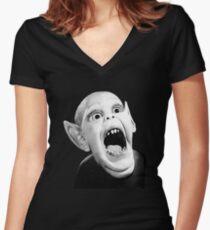 Batboy T-Shirt Women's Fitted V-Neck T-Shirt